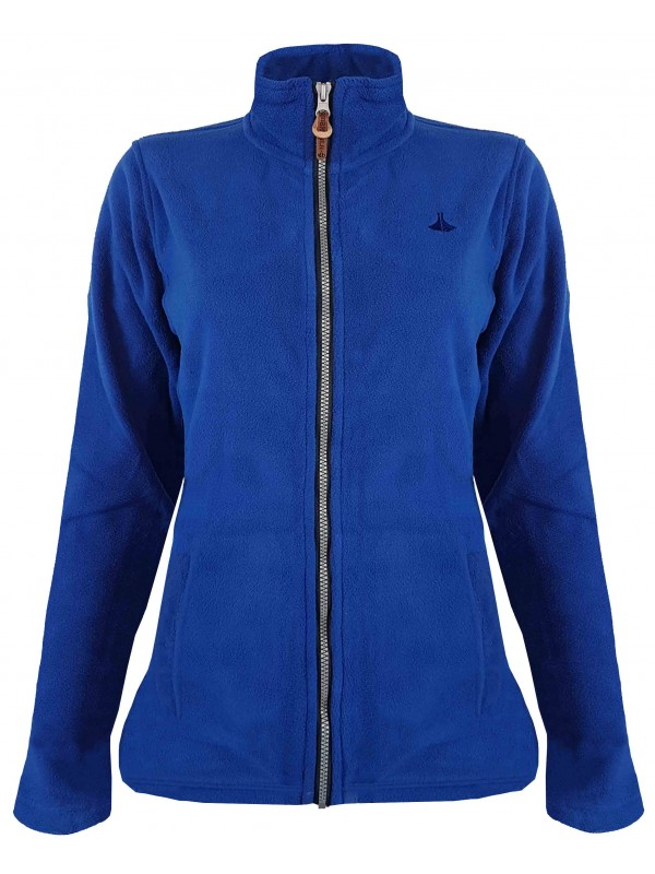 Fleece Vest 4 Seizoenen Dames Kobalt Blauw - 36-56 - JENNA