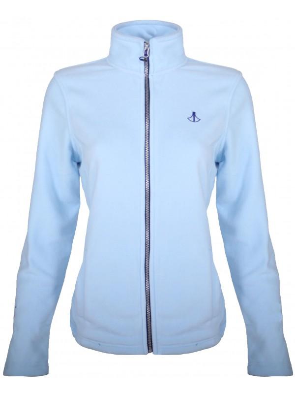 Fleece Vest 4 Seizoenen Dames Lichtblauw - 36-56 - JENNA