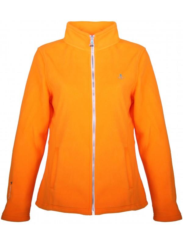 Fleece Vest 4 Seizoenen Dames Oranje - 36-56 - JENNA
