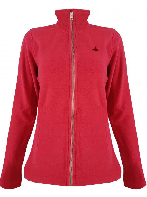9b983e5cc46 Fleece vest dames wijnrood kopen? - Outdoorkleding - €24,95