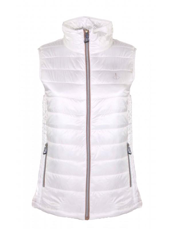 Witte Winterjas Dames.Bodywarmer Dames Wit Kleur Kopen Bjornson Nl 24 95