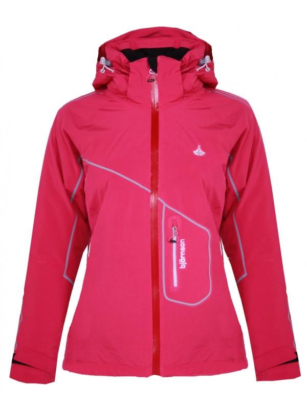 Dames Winterjas.Ski Jas Dames Roze Kopen Bjornson Nl 49 95