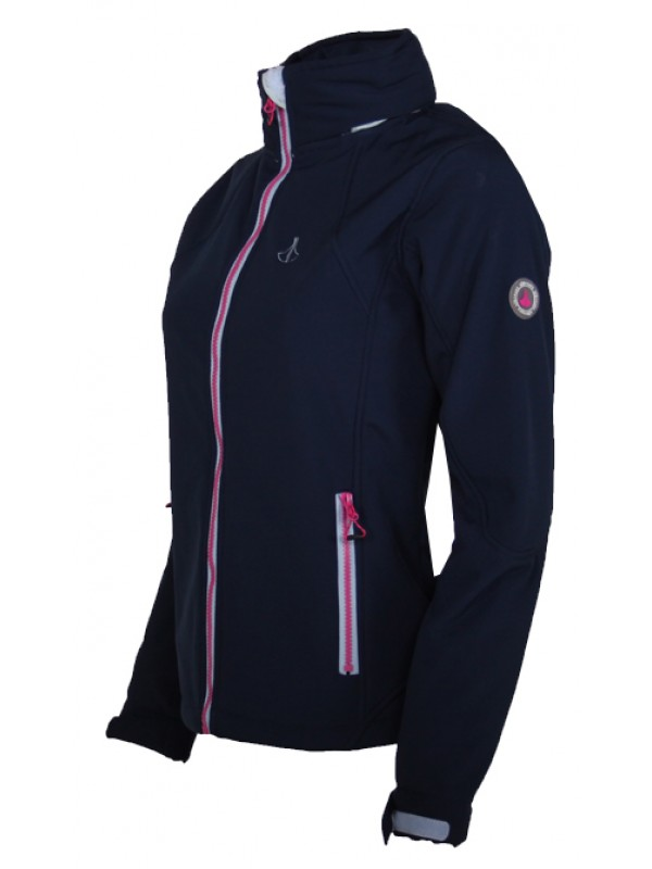 Winter softshell jas blauw kopen? Bjornson.nl €39,95