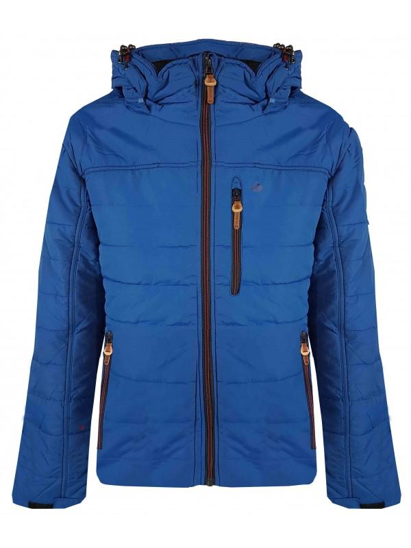 Trendy Winterjas Heren.Winterjas Heren Blauw Kopen Bjornson Nl 49 95