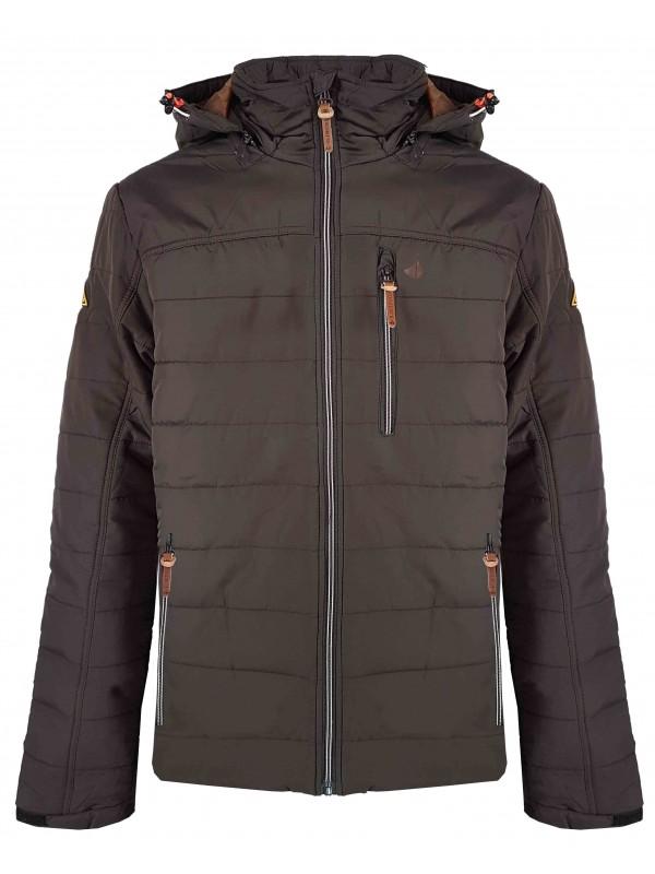 Trendy Winterjas Heren.Winterjas Heren Bruin Kopen Bjornson Nl 49 95