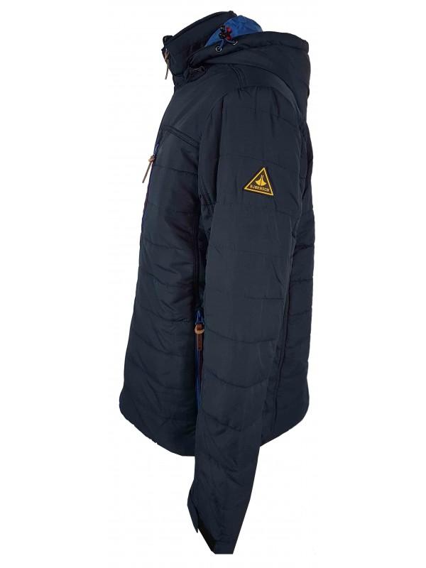 Donkerblauwe Winterjas.Winterjas Heren Donkerblauw Kopen Bjornson Nl 49 95