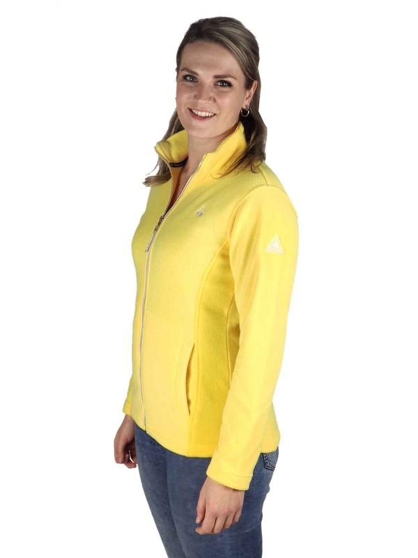 Fleece Vest 4 Seizoenen Dames Geel - 36-56 - JENNA