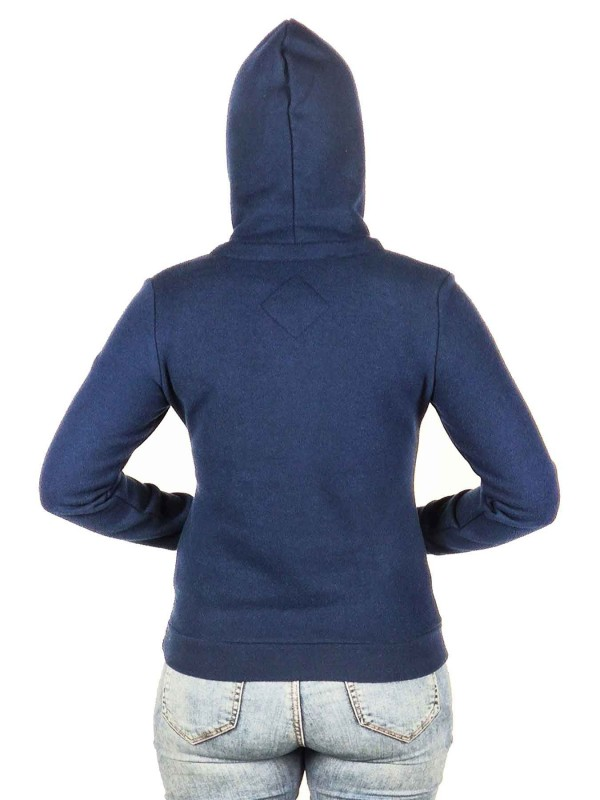 BJØRNSON Hooded Sweater 4 Seizoenen Dames Donkerblauw - 36-52 - JULIA