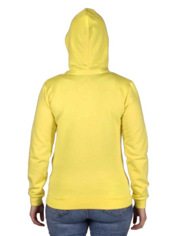 BJØRNSON Hooded Sweater 4 Seizoenen Dames Geel - 36-52 - JULIA