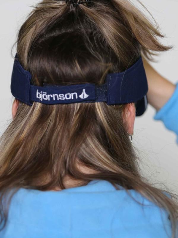 BJØRNSON ZONNEKLEP Donkerblauw - L-cap