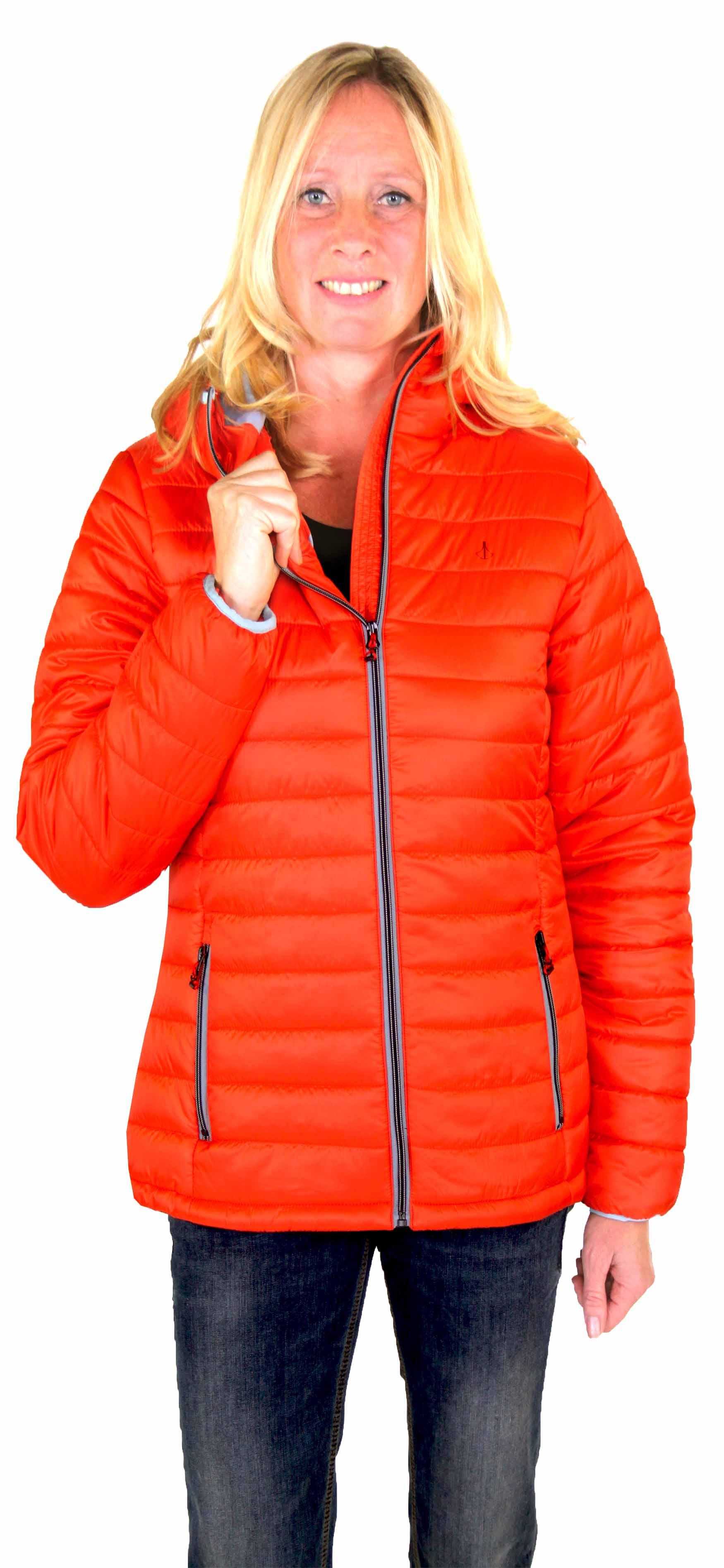Oranje dames winterjas kopen - Bjornson.nl - Outdoorkleding