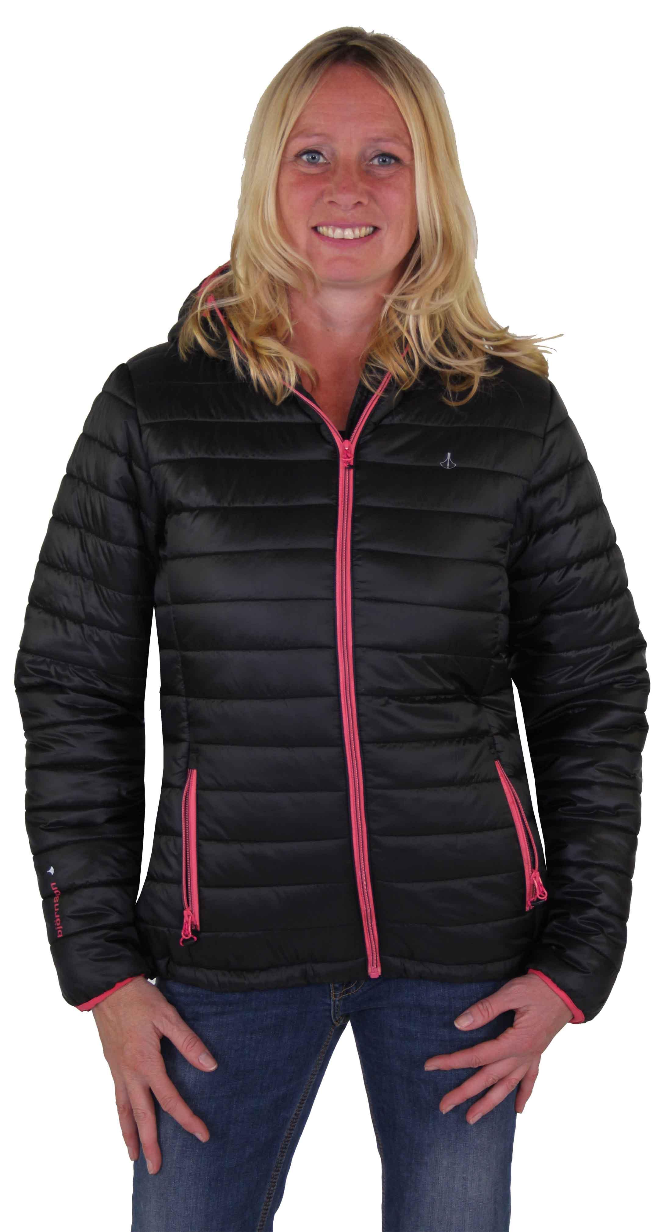 Zwarte dames winterjas kopen - Bjornson.nl - Outdoorkleding