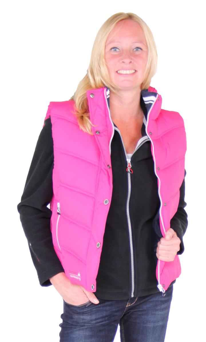 Bjornson roze dames bodywarmer - Ronja