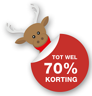 Christimas Sale!! Tot 70% korting op outdoorkleding!