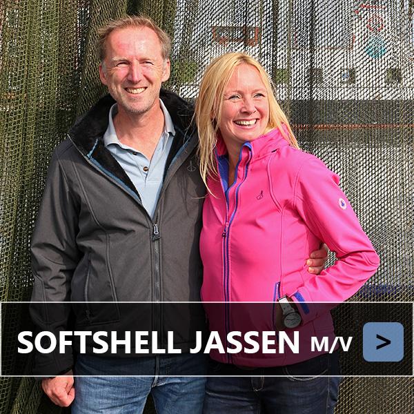 Softshell jassen voor dames en heren vanaf €44,95